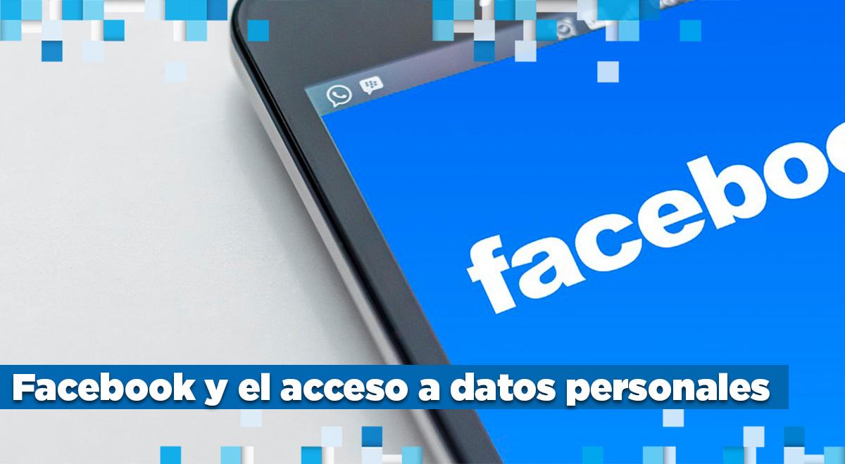 facebook y los datos personales
